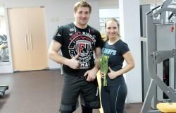 Тренировка с чемпионом