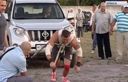 В Фокино состоятся традиционные состязания силачей