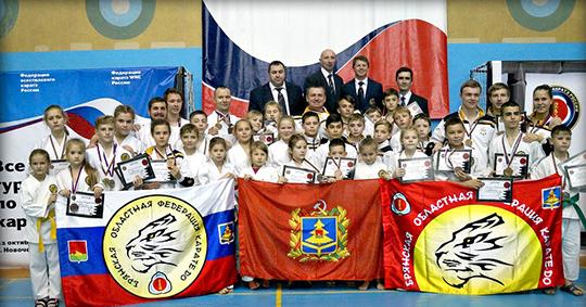 Брянские каратисты завоевали 43 медали на Кубке России