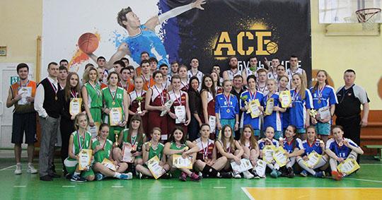 Юноши и девушки из БГУ стали чемпионами области по студенческому баскетболу