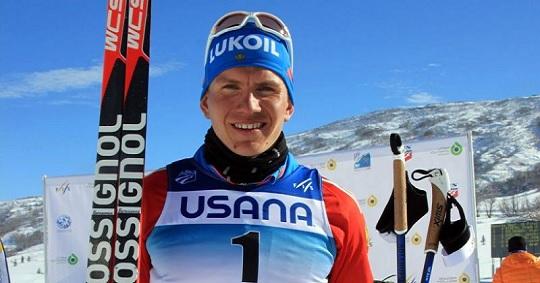 Александр Большунов выиграл первенство мира