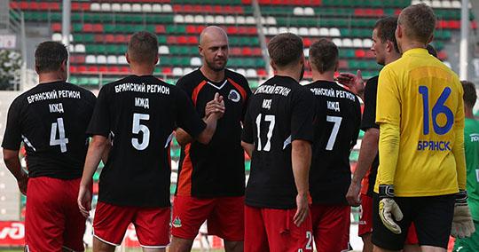 Брянские железнодорожники выиграли футбольный Кубок начальника МЖД