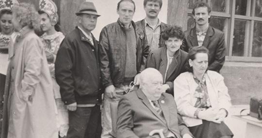 Юбилейное фото: Николай Озеров в Новозыбкове