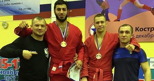 Брянские самбисты завоевали медали ЦФО и попали в сборную страны