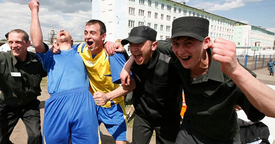 Брянские заключенные смогут посмотреть матчи Чемпионата мира по футболу