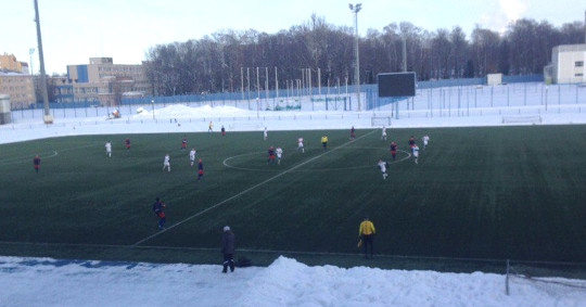 «Динамо-Брянск» в Смоленске в первом контрольном матче проиграло 3:2