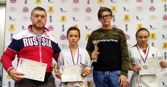Представитель брянской школы киокусинкай стал победителем первенства в Москве