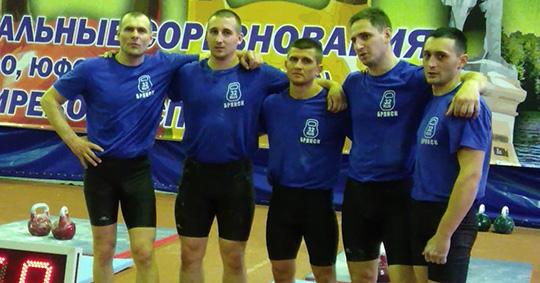 Сборная Брянской области по гиревому спорту стала второй на межрегиональных соревнованиях
