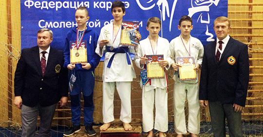 Брянские каратисты направления WKF завоевали 26 медалей на турнире в Рославле