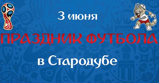В Стародубе состоится футбольный праздник