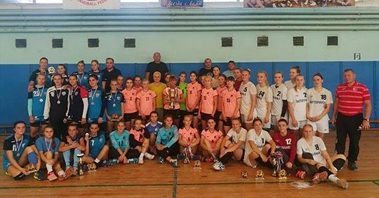 В Сельцо прошёл традиционный гандбольный турнир памяти Ивана Каспарова