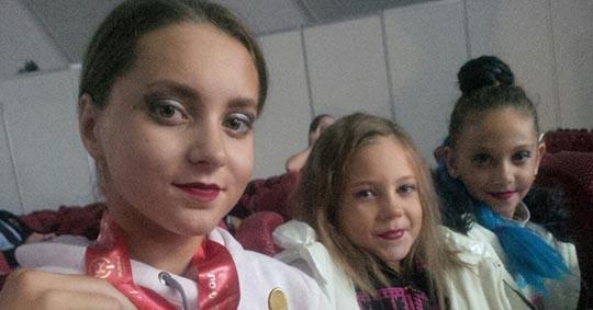 Арина Чернова из Брянска выиграла чемпионат России по детскому фитнесу