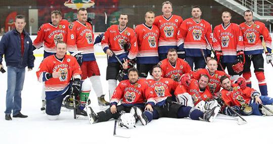 Брянские железнодорожники заняли второе место на Кубке начальника Московской ж.д. по хоккею