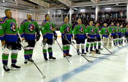 Александр Богомаз сыграл в матче-открытии нового сезона НХЛ