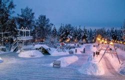 """В эти выходные в парке """"Соловьи"""" откроется """"Лапландия-арена"""""""