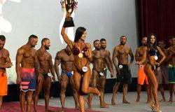Милина Минасян выиграла международный турнир по бодибилдингу в Ереване
