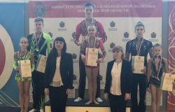 Брянские акробаты стали бронзовыми призёрами первенства России