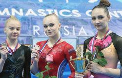 Таисия Бороздыко завоевала серебряную медаль чемпионата России по спортивной гимнастике