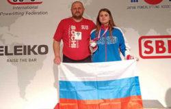 Девушка-пауэрлифтер из Климово выиграла серебряную медаль чемпионата мира