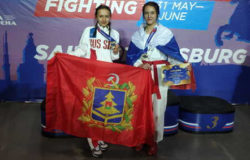 Ольга Королёва и Анастасия Пахомова выиграли ЧМ по рукопашному бою