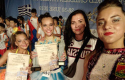 Василиса Белова заняла второе место на чемпионате мира по детскому фитнесу в Греции