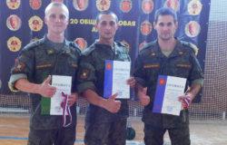 Брянские солдаты-гиревики завоевали три медали чемпионата Западного военного округа