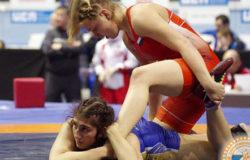 Татьяна Смоляк завоевала серебряную медаль на турнире по вольной борьбе в Минске