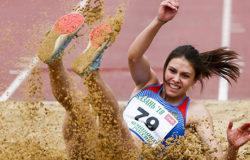 Дарья Нидбайкина выиграла Чемпионат России по прыжкам в длину