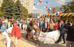 В московском Ново-Переделкине открыли сквер самбо