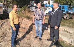 В Жуковке подготовили площадку под строительство ФОКа