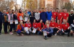 Брянские студенты пробежали осенний кросс