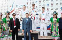 Брянский каратист стал вторым на всероссийской спартакиаде
