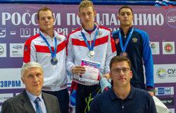 Илья Бородин стал чемпионом России по плаванию