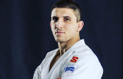 Юрий Божа занял третье место первенства Европы по дзюдо