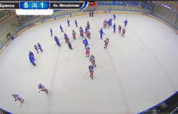 """Хоккейный """"Брянск"""" крупно переиграл Академию Михайлова в НХМЛ"""
