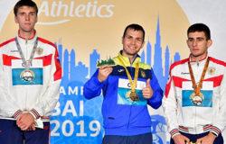 Артём Калашян занял третье место чемпионата мира по легкой атлетике среди спортсменов с ПОДА