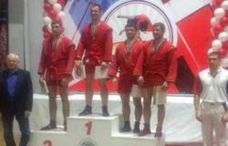 Виктор Осипенко стал бронзовым призёром кубка России по самбо