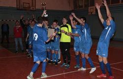 БГИТУ завоевал золотой кубок открытия нового мини-футбольного сезона