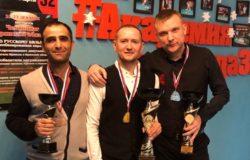 Алексей Данукин выиграл чемпионат Брянской области по русскому бильярду
