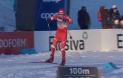 Александр Большунов стал победителем скиатлона в норвежском Лиллехаммере