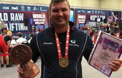 Брянский силач стал абсолютным чемпионом мира по стритлифтингу