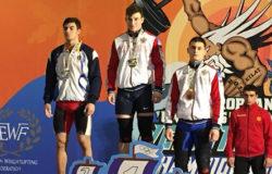 Тяжелоатлет из Брянска занял третье место на Первенстве Европы