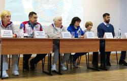 В Брянске побывала официальная олимпийская делегация Российского союза спортсменов