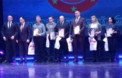 Ольга Чувина и Павел Гульков получили награды за активную работу по развитию боевых искусств в Брянской области