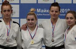Антонина Солкан – серебряный призер Кубка России по дзюдо