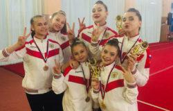 Брянские акробатки победили на всероссийском турнире в Воронеже