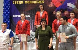 Ольга Дарымова из Брянска стала бронзовой призёркой первенства России по самбо