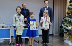 Екатерина Бобунова из Брянска заняла третье место на этапе детского кубка России по шахматам
