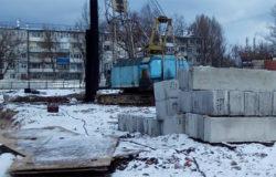 В Бежицком районе началось строительство спортивного комплекса с бассейном