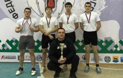 Брянские гиревики завоевали бронзовые медали на первенстве России